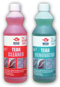Teak Cleaner and Teak Renovator